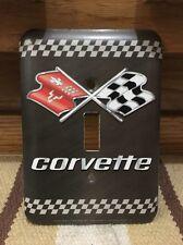 Corvette Light Switch Pump Gas Sting Ray Motor Oil Gasoline Tire Mancave Car