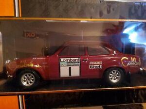 1/18 IXO FORD ESCORT MK1 RS1600 1974 RAC RALLY, #1 TIMO MAKINEN