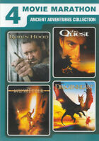 4 ANCIENT ADVENTURES COLLECTION (ROBIN HOOD / THE QUEST / THE MUSKETEER /  (DVD)