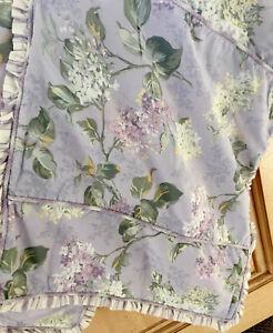 Treasures by Rachel Ashwell Shabby Chic Pillow Shams  Floral Lavender  26 x 20