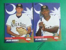 DELMON YOUNG - 2004 Charleston Riverdogs set
