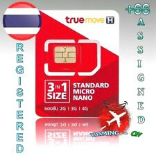+66 Registered THAILAND SIM CARD good for roaming long validity Thai