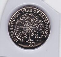 2009 Australia 20 Twenty Cent UNC Uncirculated Coin ex Set Year Astronomy