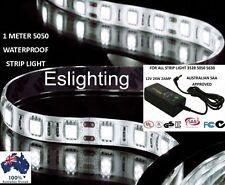 1M LED STRIP LIGHT 5050 CAMPING CARAVAN KIT 240V AND 12V DC LIGHTING HOME