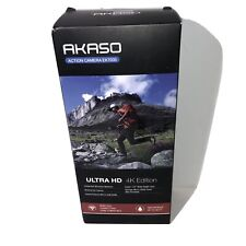 (miss. Charg. Cable) AKASO EK7000 4K ULTRA HD Action Sports Camera w/ Extras