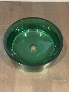 DECOLAV Resin Vessel Round Sink