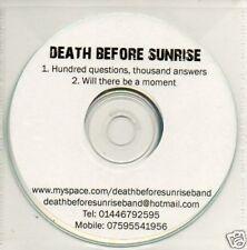 (570V) Death Before Sunrise, Hundred Questions..- DJ CD
