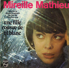 BOF UNE FILLE COUSUE DE FIL BLANC MIREILLE MATHIEU O. DASSAULT / C. GAUBERT OST