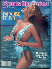 First ELLE MacPHERSON Sports Illustrated 1986 Swimsuit RARE NEWSSTAND No Label
