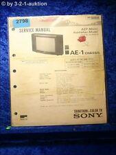 Sony Service Manual KV C2721D (#2798)
