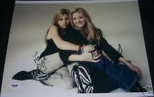 Aly & AJ Michalka Signed Auto'd 11x14 Photo PSA/DNA COA
