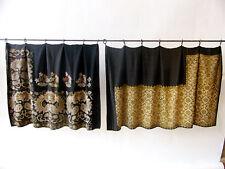 Metal & Silk Embroidered Eurasian Wrap Skirts / Girdles