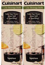 Cuisinart 1-Liter Beverage Bottle Model SM-BTL (2 PACK)