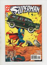 Superman #124 - Action Comics #1 Cover Swipe - (Grade 9.2) 1997