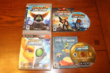 Lot Ratchet Clank Future: Tools of Destruction & Crack In Time Playstation 3