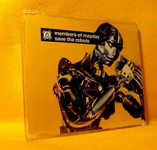 MAXI Single CD Members Of Mayday Save The Robots 3TR 1998 House, Electro
