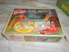 VINTAGE BARBIE'S POOL PARTY IN ORIGINAL BOX COMPLETE PLUS SUNGLASSES