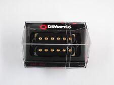 DiMarzio Regular Spaced PAF Pro Humbucker Black W/Gold Poles DP 151