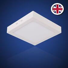 LUCE LED Bianco Pannello Quadrato 30cm superficie piana Mount - 4500K - 22W-Bianco