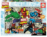 Marvel Comics puzzle 1000 piezas Educa 18498