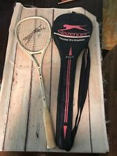 Pre-owned ~ Slazenger Panther Pro Ceramic Graphite Squash Racket With Case
