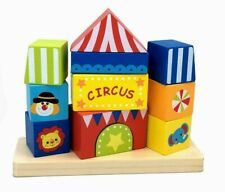 Tooky Toy Circus Block Tower Children Toys.