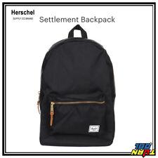 "Herschel Supply Co Settlement Backpack w/Laptop sleeve 15"" school bag (3 Colors)"