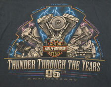 95th Anniversary Harley Davidson Motorcycles Joplin, Missouri shirt Adult Large
