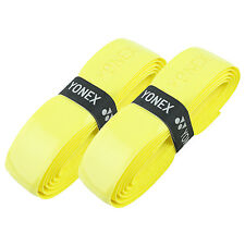 Yonex Hi Soft Grap Tennis Squash Badminton Replacement Grip - Yellow - Pack of 2
