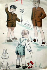 *LOVELY VTG 1940s BOYS SUIT Sewing Pattern 2
