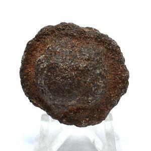 33mm Moqui Marble Sphere Shaman Stone Natural Mineral Crystal Thunder Ball Utah