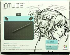 Barely Used! Intuos Draw Wacom Creative Pen Table - Small Mint Blue