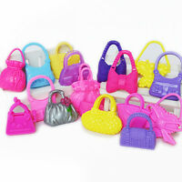 10 Pcs Doll Bags For   Colorized Fashion Morden Accessories Toy Mix  3CBDAU