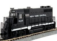 Kato 37-3024 HO EMD GP35 Phase Ia w/o DB New York Central #6126 Locomotive