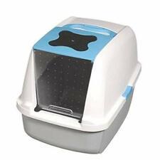 Catit Chat Maison de toilette Bleu 40x55x45 cm