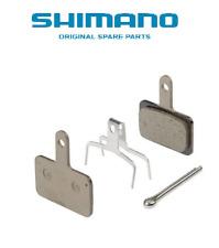 2 Pares Pastillas de Disco Freno SHIMANO B01S Originales Resina MTB Granel