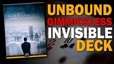 GIMMICKLESS INVISIBLE DECK Giochi di prestigio Magia Card Magic Trick Video