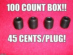 100 MGB MG GT Air Rail Head Plugs Midget Mini Triumph Spitfire Sprite Free Ship