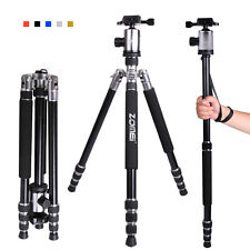 ZOMEI Sliver Z818 Pro Aluminum Travel Tripod Monopod&Ball Head for DSLR Camera