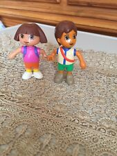 Lego Duplo DORA EXPLORER & DIEGO - FIGURES Backpack Cake Toppers Replacement
