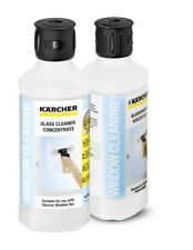Karcher Glass Cleaner 2 Pack WV50, WV60, WV70 Window Vacuum x2  500ml RM500