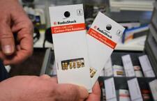 Radio Shack Carbon Film Resistor Pack 5 Resistors Each Various
