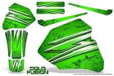 HONDA XR80 XR100 XR 80 100 1985-2000 CREATORX GRAPHICS KIT COLD FUSION GREEN