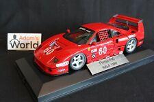 Hot Wheels Elite transkit Ferrari F40 LM 1989 1:18 #60 Alesi 1h IMSA GTO (PJBB)