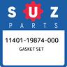 11401-19874-000 Suzuki Gasket set 1140119874000, New Genuine OEM Part
