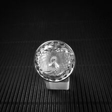 Ring Gr. 58 Silber 925 mit Bergkristall, facettiert