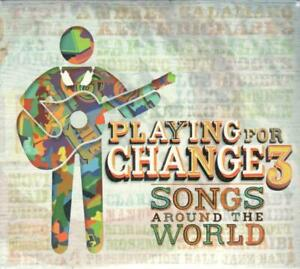 PLAYING FOR CHANGE VOL.3 - SONGS AROUND THE WORLD - CD+DVD NUOVO SIGILLATO