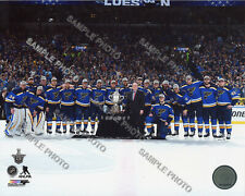 2019 St. Louis Blues Western Conference Champions Celebrate 8x10 Team Photo