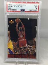 1998 Upper Deck MJx Timepieces Red #72 Michael Jordan PSA 5 (11 in all grades)