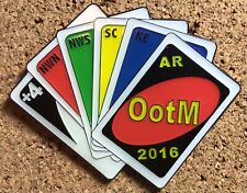 Arkansas 2016 Odyssey of the Mind World Finals Pin - Theme UNO Cards